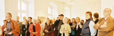 Gaeste der Vernissage